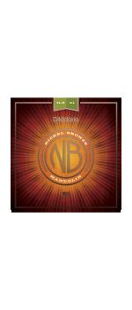 NBM11541 Nickel Bronze Комплект струн для мандолины, фосф/бронза, Medium-Heavy, 11.5-41, D'Addario